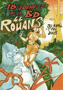 Affiche du 18ème festival de Rouans sur journeesbds.free.fr
