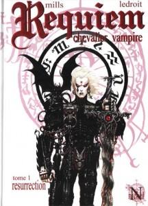 Requiem chevalier vampire tome 1 sur www.krinein.com